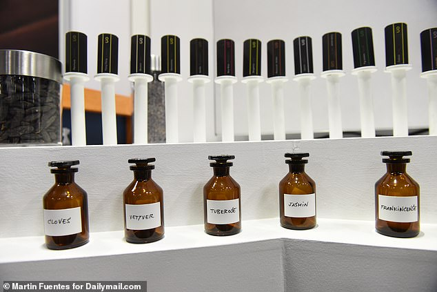 Users can adjust the percentage and proportion of each scent in real time, which changes its composition and means there are potentially hundreds of unique fragrances users can create