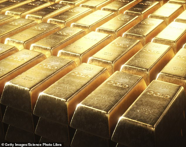 Safe bet? Gold is considered by many to be a safe haven in stormy times