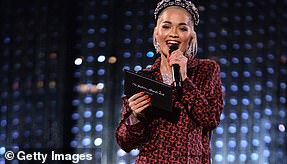 Competition: Rita Ora failed to take home any awards