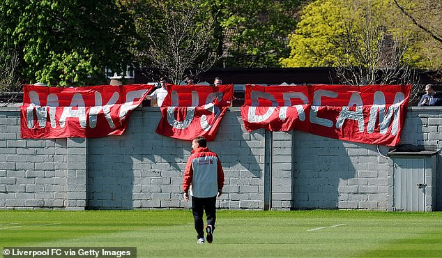 At Liverpool's Melwood training camp, it's easy for fans to watch a session over the wall