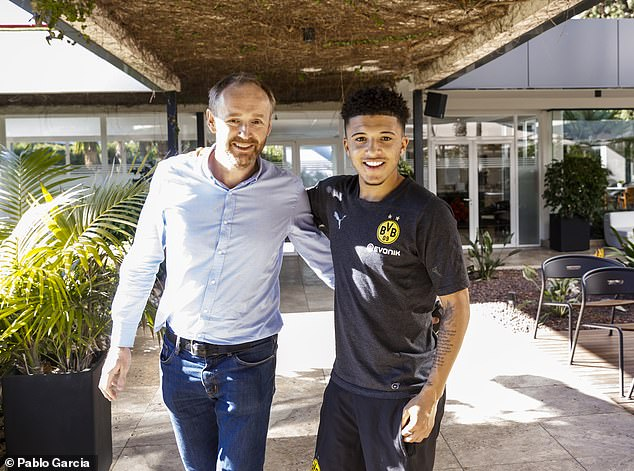 For a player who grew up in England, the success of Sancho abroad is second to none