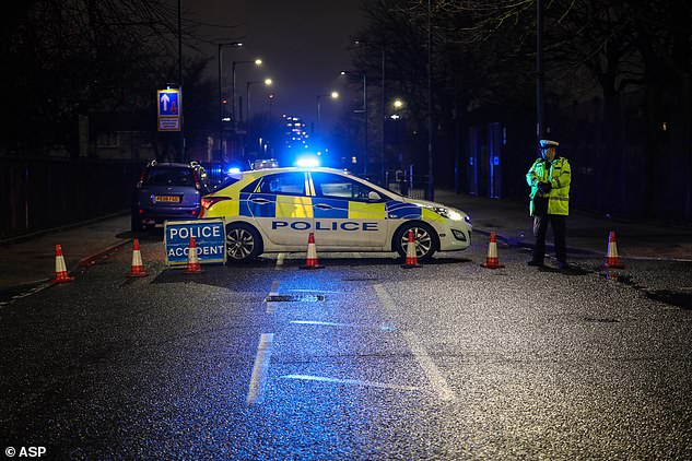 The suspect remains in custody for questioning, said Greater Manchester Police