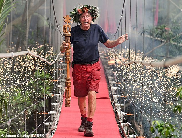 King: Harry Redknapp is reportedly set to rake in £500,000 after signing a deal with McDonald's to become the face of their new sports-themed adverts. He is seen here winning I'm a Celebrity... Get Me Out of Here! last year