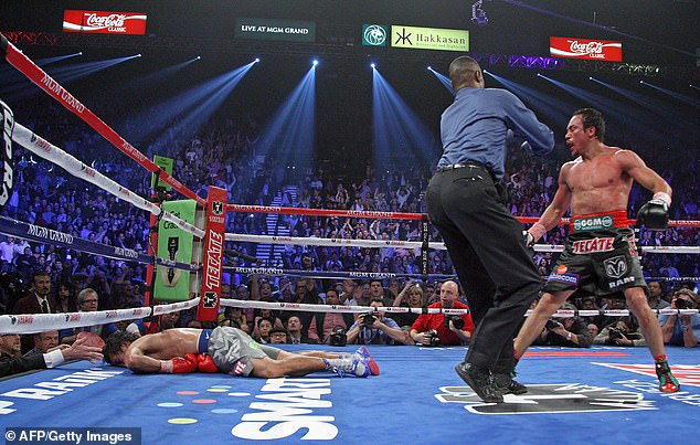 The Filipino beat Juan Manuel Marquez twice but was brutally knocked out in their last fight