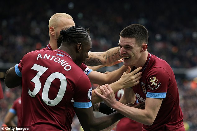 The teenager's West Ham team-mates have been urging him to try his luck in front of goal
