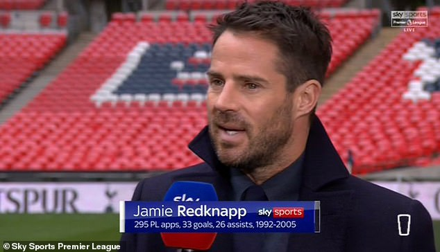 But Jamie Redknapp is unsure of his suitability for the job on a permanent basis next season