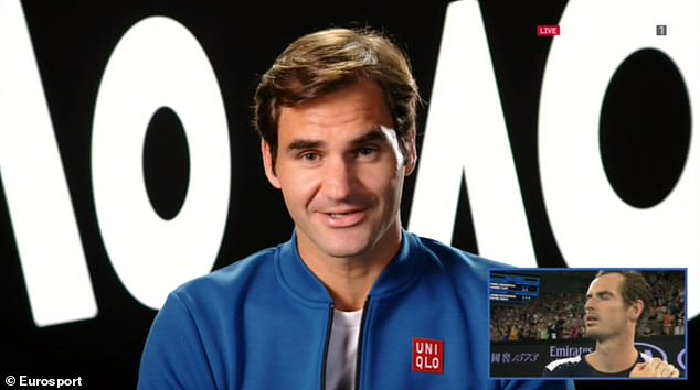 Roger Federer has paid tributes to Andy Murray in an exciting video montage of his rivals