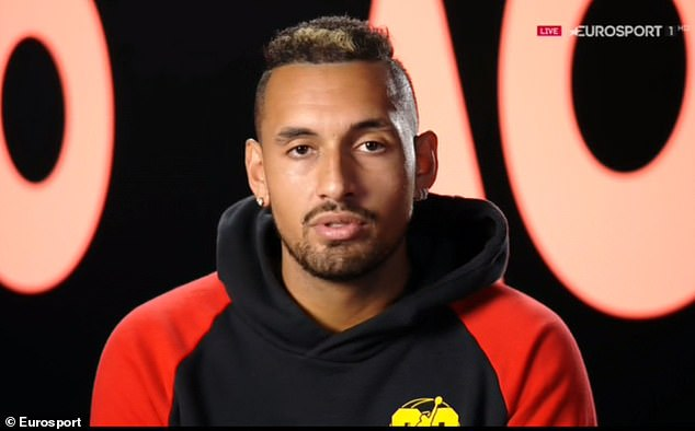 """Nick Kyrgios is a close friend of Murray on the circuit and insists that Murray is a """"sports legend"""""""