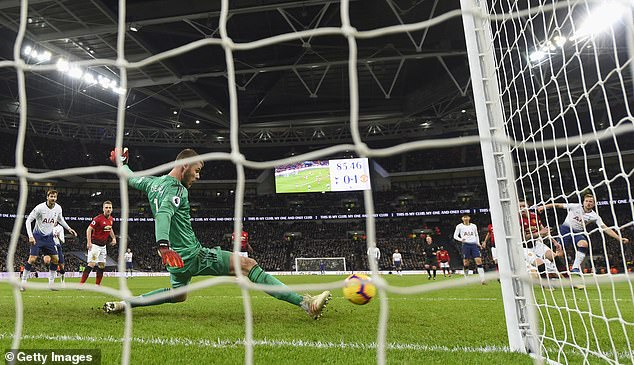 The positioning of De Gea was an integral part of him, making him a large number of saves on Sunday for United