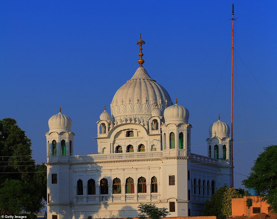 Seventh place on the & # 39; must-photograph & # 39; list is Kartarpur in Pakistan, where the first Sikh commune was located