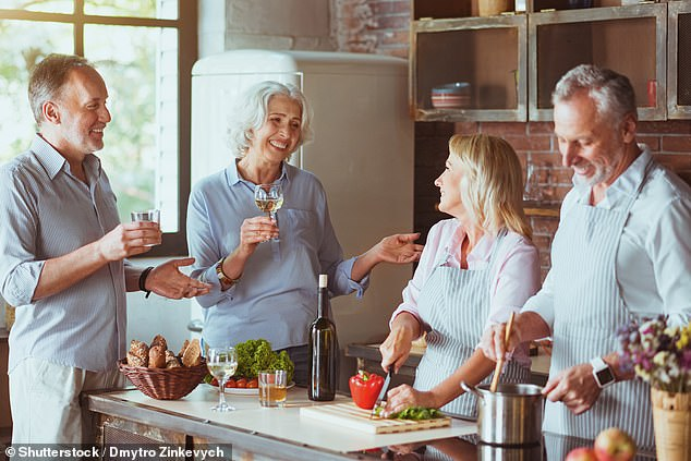 Generational divide: Baby boomers share of the UK's total wealth has increased, while younger generations' share has fallen over the ten years to 2016
