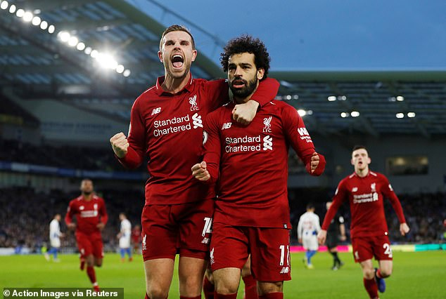 Jordan Henderson insists attempts to label Salah a diver will only spur on in the striker
