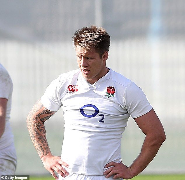 The New Zealand-born flanker played five Test matches for England during 2016