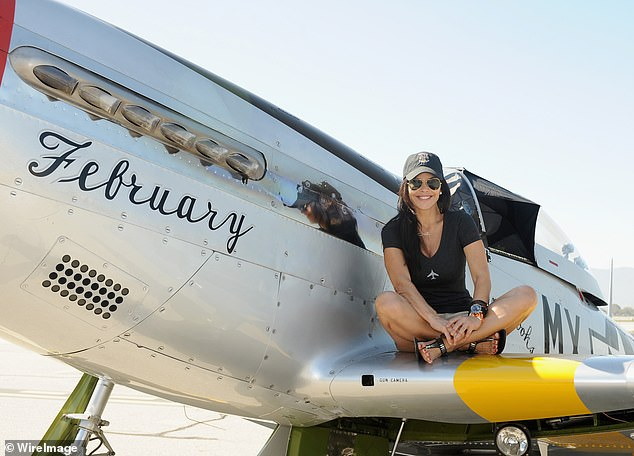Aside from his screen work, Sanchez has a passion for flying and launched his aerial film production, Black Ops Aviation, in 2016