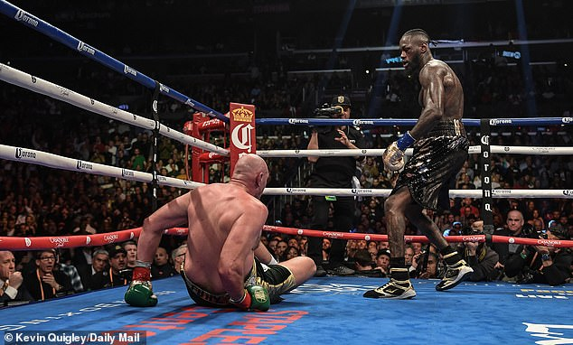 Fury twice climbed off the canvas as he and Wilder battled to a draw at the Staples Center