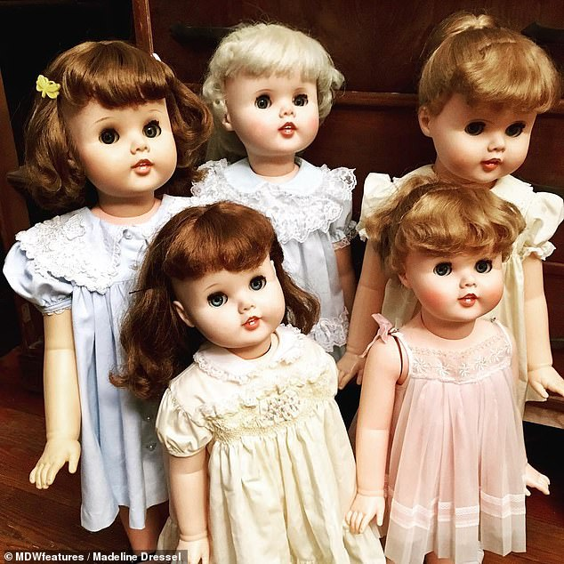 They spend days restoring the dolls that they find to preserve them for the future and have spent between $1,900 (£1,500) to $2,500 (£2,000) on them in total