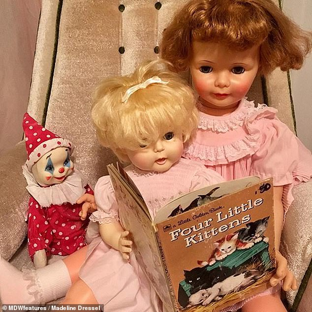 The couple both thought that it would be cool to pose the dolls in real-life settings as if they were kids as a bit of a joke to start, but it grew from there
