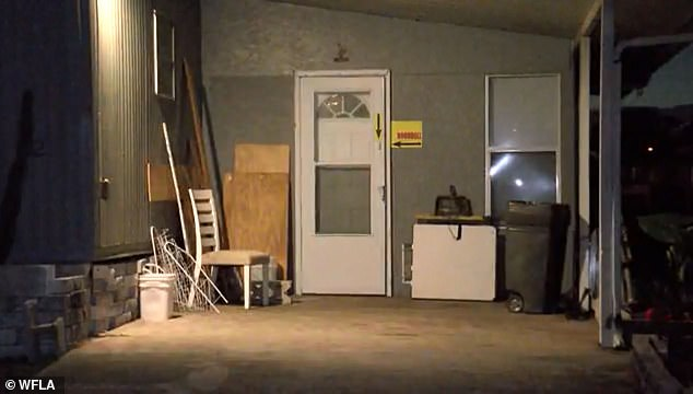 Conditions inside the trailer, where 'the boy was kept as a sex slave' was said to be 'deplorable'