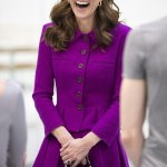 Kate Middleton in recycled £2,736 Oscar de la Renta dress