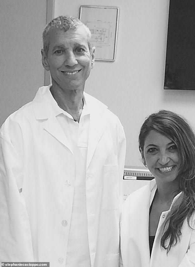 John Cacioppo (left) and Dr. Stephanie Cacioppo were not only husband and wife but research partners working on a loneliness drug before