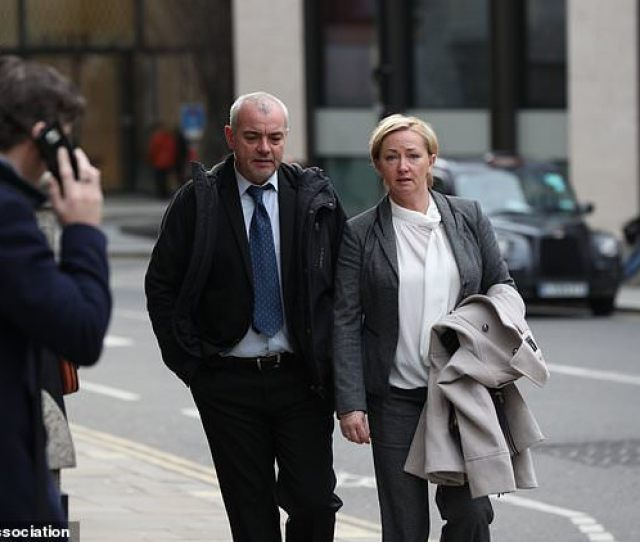 Detective Constables Lee Pollard And Sharon Patterson Leaving The Old Bailey Jonathan Brady Pa