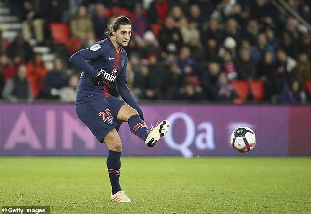 Rabiot has been linked to both Barcelona and Chelsea, but seems destined to move to Spain