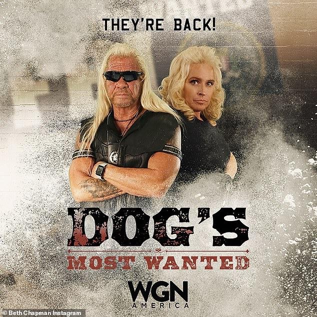 Sie sind zurück: Letzte Woche kündigten Dog, 66 und Beth an, dass sie in der kommenden WGN America Reality-Serie Dog's Most Wanted die Hauptrolle spielen würden