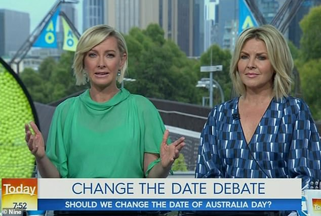 Replaced! Karl was sacked from the Today show while on his honeymoon in December 2018. Deborah (left) was subsequently announced as his replacement with Georgie Gardner (right). Both female hosts were axed in November 2019