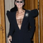 Celine Dion Goes Braless for Paris Fashion Week
