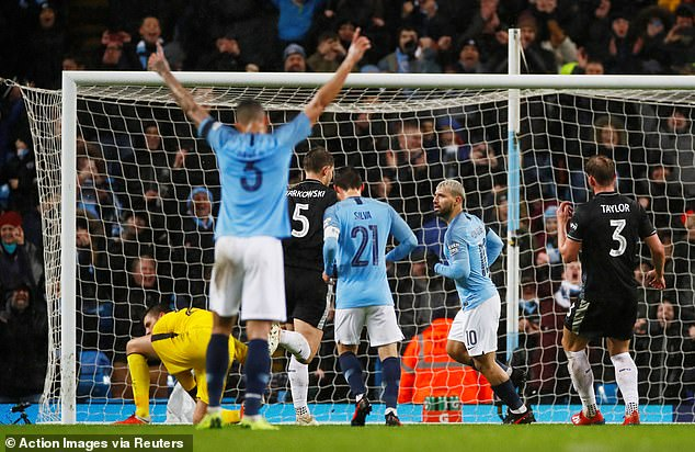 Sergio Aguero and Co also booked their spot in the fifth round of the FA Cup on Saturday  Guardiola, Man City are furious with Premier League with decision ahead of Chelsea, Arsenal clash 9060626 6638547 image a 26 1548635407315
