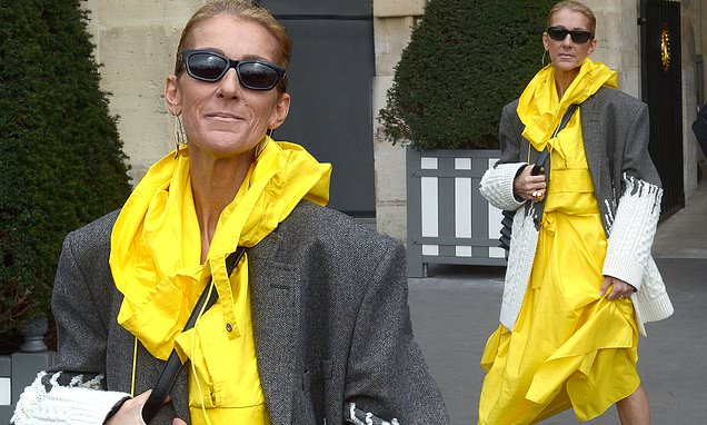 Image result for Here is what Celine Dion has to say about those criticising her slimmer figure as she finally addresses relationship with her 'handsome toyboy'