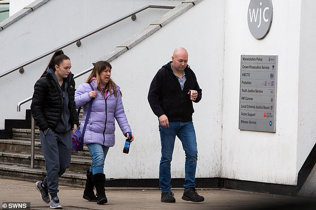 Louise Porton's family leaves Warwick Crown Court