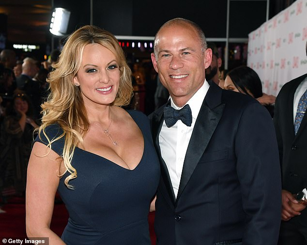 Avenatti, who represents the porn star Stormy Daniels (both photographed at the Adult Video News Awards on January 26) in her court case for a presumed relationship with President Donald Trump, has worked on behalf of alleged victims of sexual violence by R Kelly.