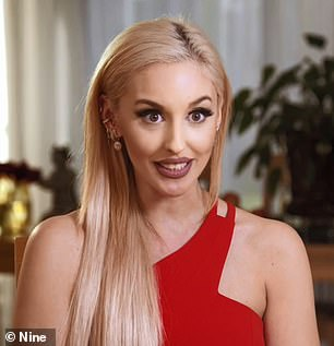 Unmasked! Married At First Sight's Elizabeth Sobinoff, 27, looked almost unrecognisable as she went makeup-free on camera on Sunday night's episode