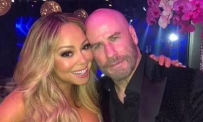 Image result for john travolta mariah carey