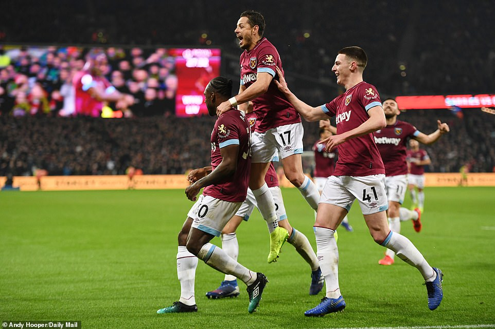 The Hammers made an excellent response from going a goal down to equalising within six minutes at the London Stadium