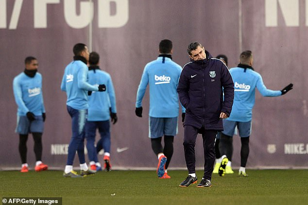 Barcelona boss Ernesto Valverde says he will not risk Messi in the cup unless he is fully fit