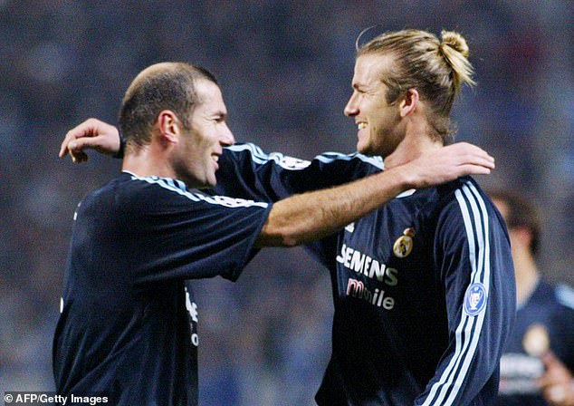 The former has been friends with Beckham since they played together