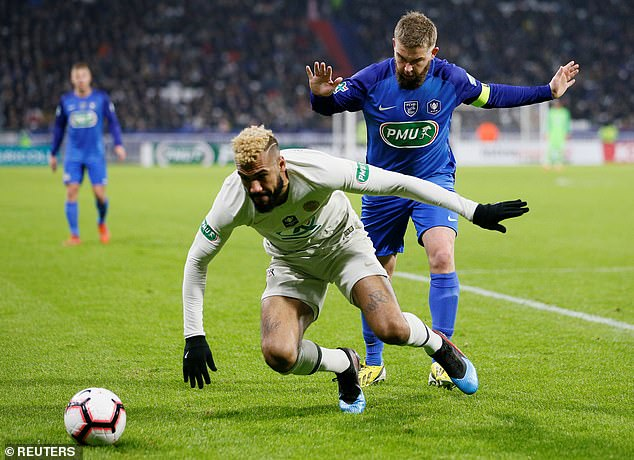 Eric Maxim Choupo-Moting was given a rare start as Thomas Tuchel heavily rotated his side