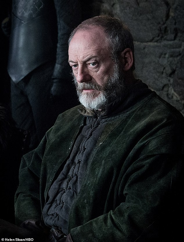 The Onion Knight: Liam Cunningham also resumed his role Davos Seaworth