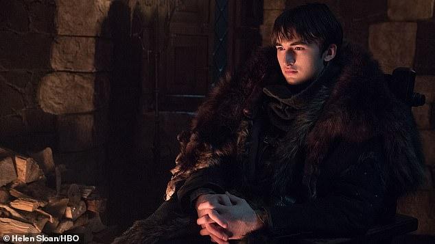 The Three-Eyed Raven: Isaac Hempstead Wright saw brooding as Bran Stark