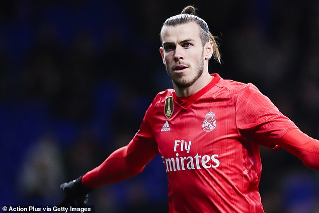 Real Madrid forward Gareth Bale also earns a hefty amount each month before tax
