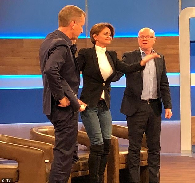 Opening: The forty-five-year-old actress will appear in a pre-recorded episode of the Jeremy Kyle Show on Friday morning, during which she will agree to undergo residential rehabilitation