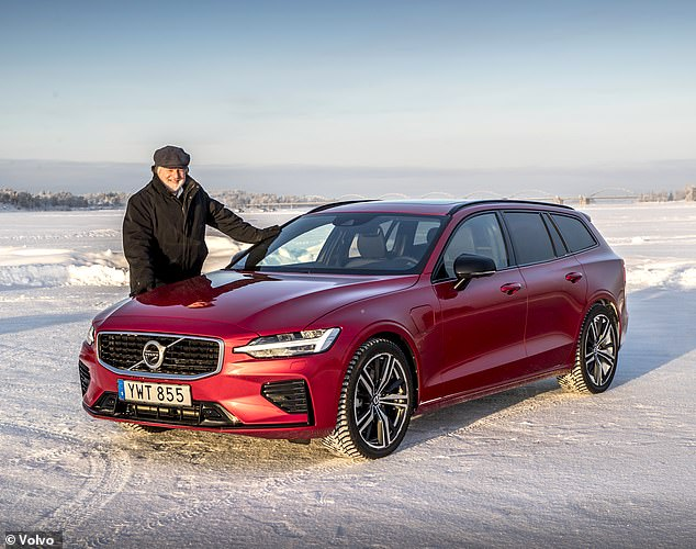 In good hands: It is time to go extreme on a special, slippery track created from the frozen sea