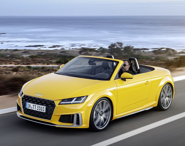 Updated: Audi has updated Coupé and Roadster with style and performance improvements
