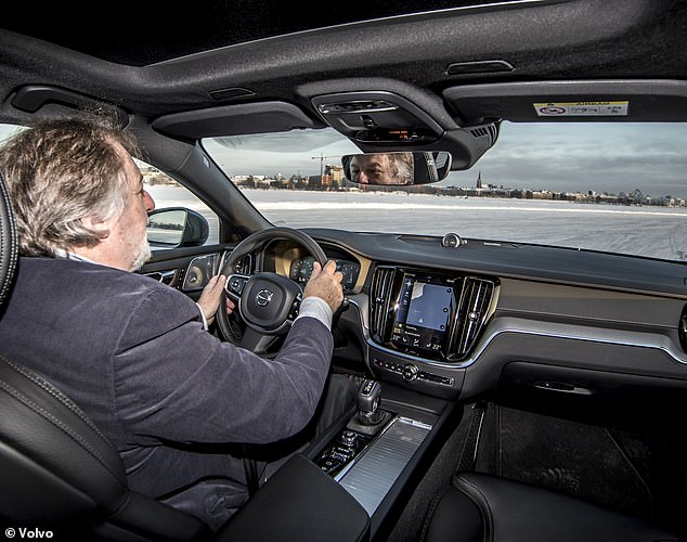 Self control:I drive two V60 models and go dancing on ice in comfortable, smartly-appointed vehicles that are perfect load-luggers