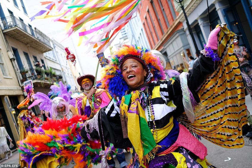 Rain on your parade: Revellers will gather in Louisiana city's French quarter next month