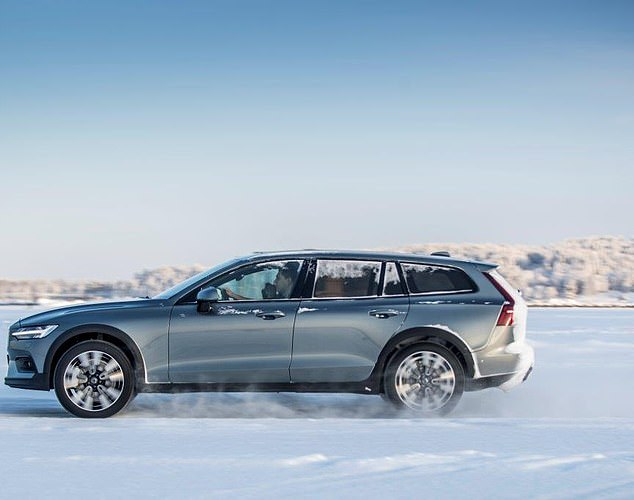 Volvo V60 Cross Country: This handsome vehicle is powered by a 250 hp, 2-litre, 4-cylinder engine