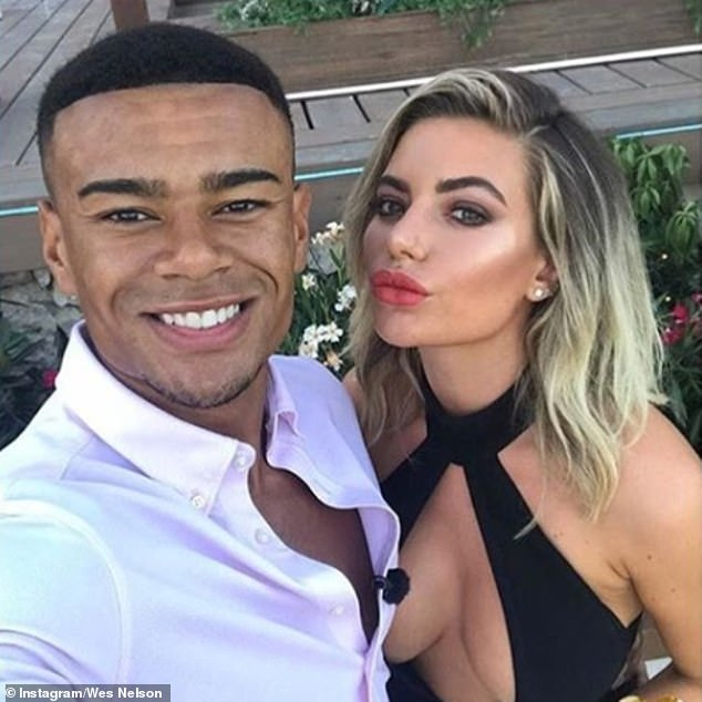 That should not be: The former designer and ex-stripper had formulated their whirlwind romance at last year's edition of Love Island, but shocked the fans only six months later by splitting