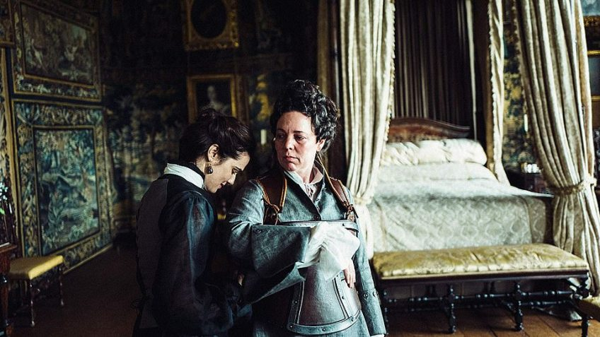 Ruling the night: The Favourite was nominated in an impressive 12 categories.